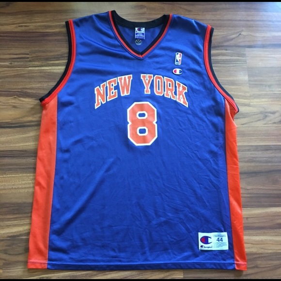 new product b22b6 1bde5 Latrell Sprewell New York Knicks Jersey